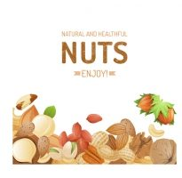 different_nuts_vector_background_graphics_542954-3695978